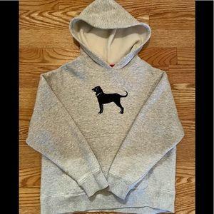 The black dog hooded sweatshirt